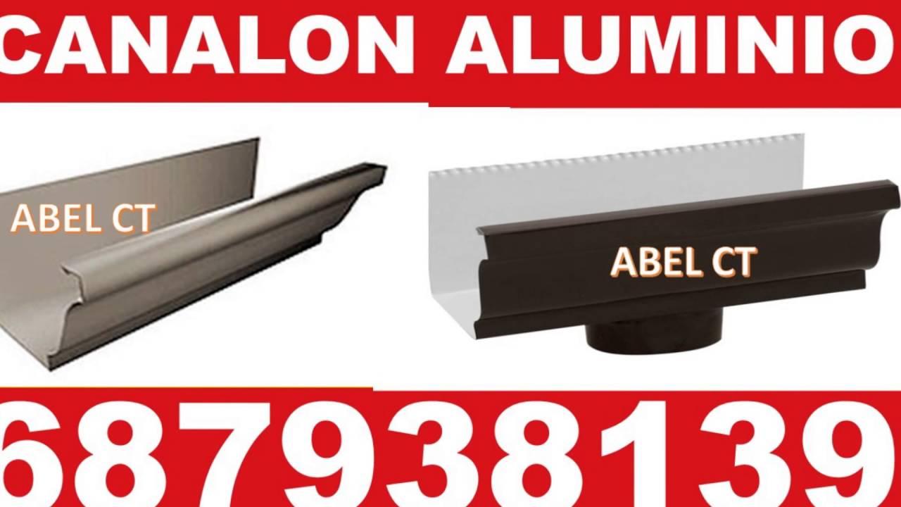 Canalones de aluminio en molina de segura lorca murcia youtube - Canalones murcia ...
