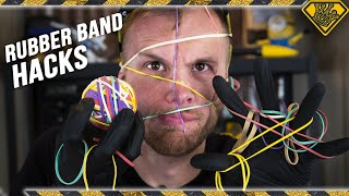 Download Viral Rubber Band Life Hacks TESTED Mp3 and Videos