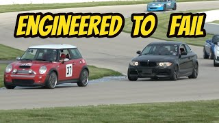 Track Testing My Cheap, Unreliable BMW Products (OF COURSE THEY BOTH BROKE)