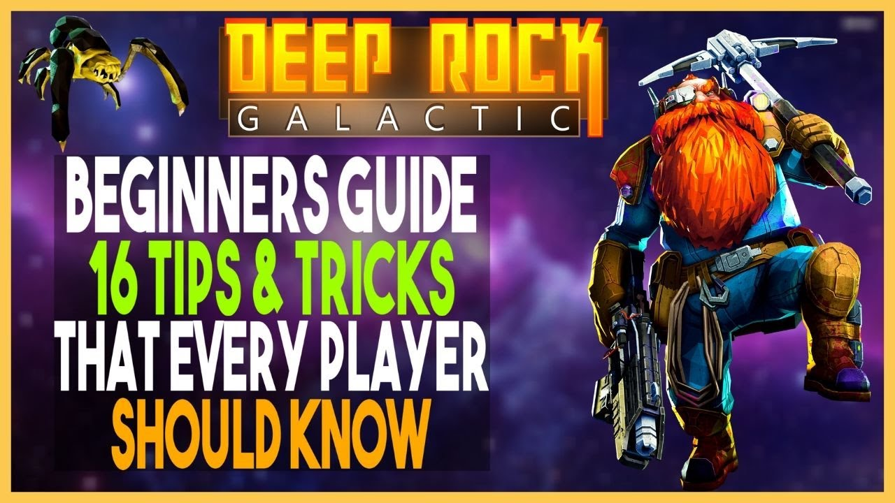 Deep Rock Galactic Beginners Guide|16 Tips & Tricks For New Players
