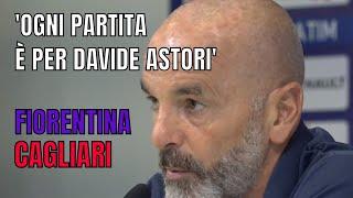 """[Serie A] Stefano Pioli: """"Ogni partita è per Davide Astori"""""""