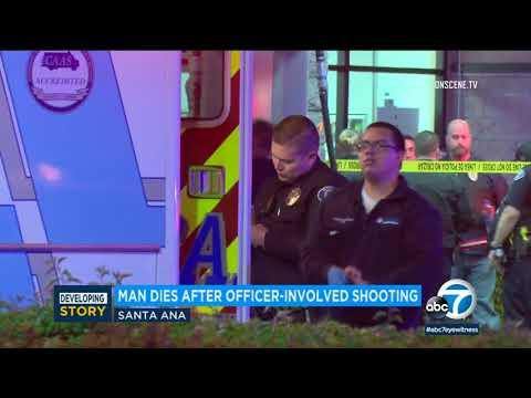 Garden Grove police shoot, kill alleged probation violator outside Santa Ana 7-Eleven I ABC7