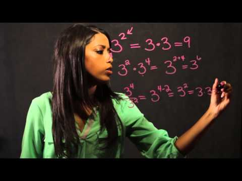 How Do I Learn the Math Fundamentals of Exponents? : Math Fundamentals