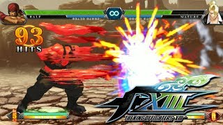 【King of Fighters XIII】 All 38 Characters All Neo Max Super Moves thumbnail