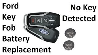 Ford Key Fob Battery Replacement