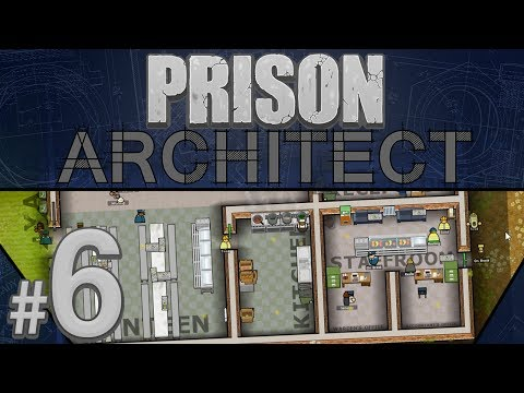 Prison Architect - Happy Working Environments - PART #6