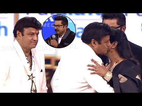 Balakrishna Shocks Sarath Kumar By Hugging Raadhika