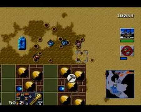 Dune 2 - The Battle For Arrakis (Mega Drive/Genesis)