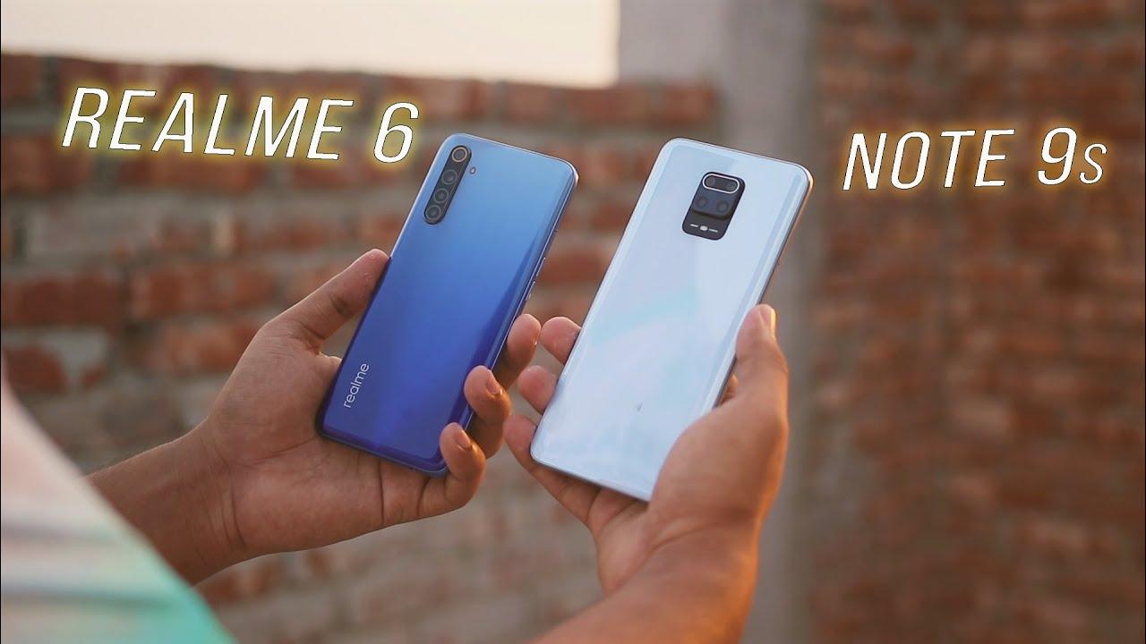 Redmi Note 9s vs Realme 6 Comparisons in Bangla!