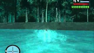 Isla Secreta GTA San Andreas NO MOD (triangulo de las bermudas)