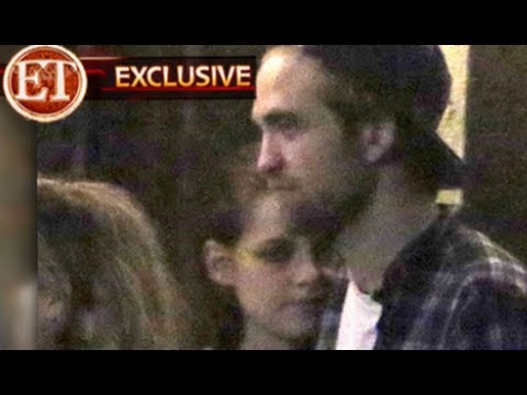 Rob And Kristen Cuddle - FIRST PHOTO Back Together!