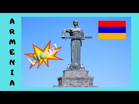 ARMENIA: A Tour Of Its Beautiful Capital City Yerevan 😲, Let's Go!