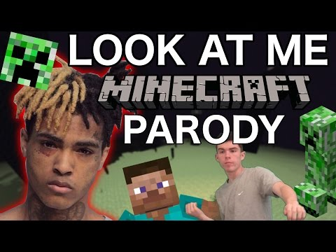 "xxxtentacion---""look-at-me""-minecraft-parody"