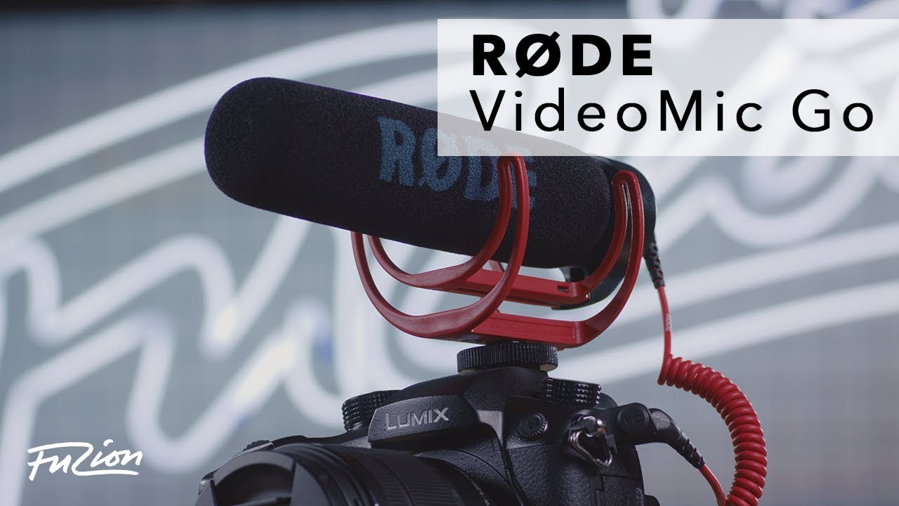US Authorized Dealer Rode VideoMic Go Light-weight On-Camera Microphone VMG