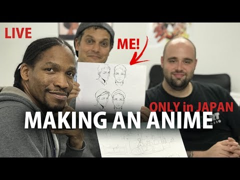 "Japanese Anime Studio ""ONLY in JAPAN"" secret project"