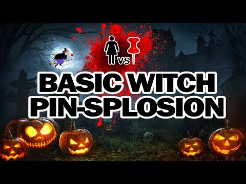 🧙‍♀️Basic Witch Pinsplosion, Corinne VS Pin
