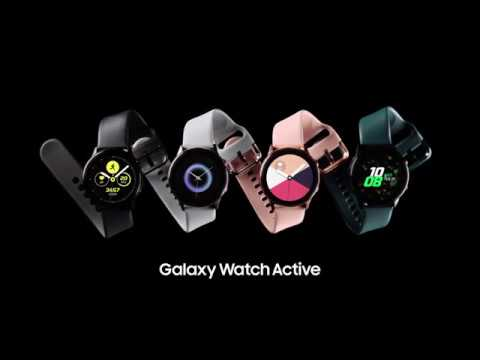 Samsung Galaxy Watch Active 40mm (Rose Gold)