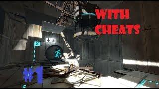 PORTAL 2 With cheats #1