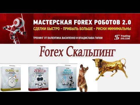 Советники Форекс: Forex Скальпинг от В. Василенко и В. Гилки