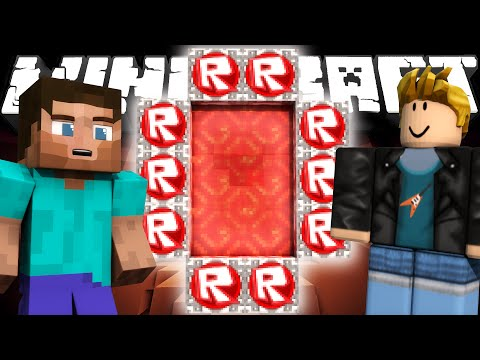 Thumbnail: If a Roblox Dimension was Added to Minecraft