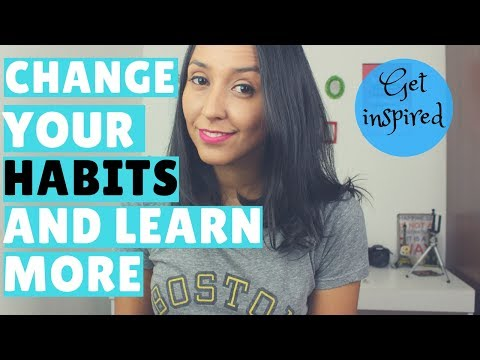 Change Your Habits And Improve Your English - Get Inspired