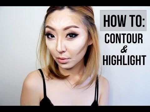 HOW TO: CONTOUR & HIGHLIGHT, #Contouring