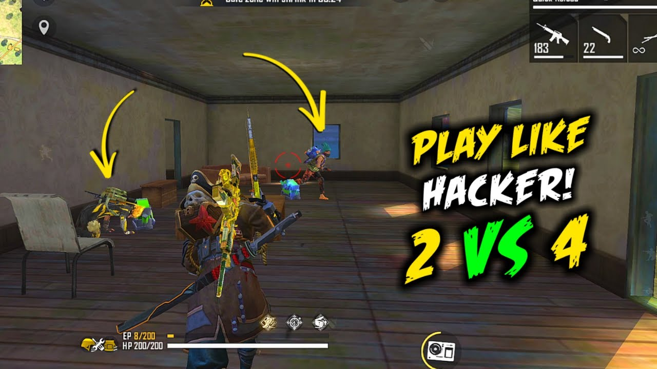 Duo vs Squad Play Like Hacker with Subrata total 23 Kill - Garena Free Fire