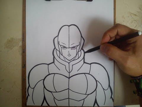 Como Dibujar A Hit Dragon Ball Super How To Draw Hit Dragon