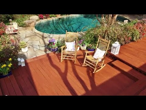 Stain Your Deck In A Few Easy Steps Thompson 39 S Waterseal Waterproofing Stains Youtube