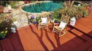 Stain Your Deck In A Few Easy Steps: Thompson's Waterseal Waterproofing Stains