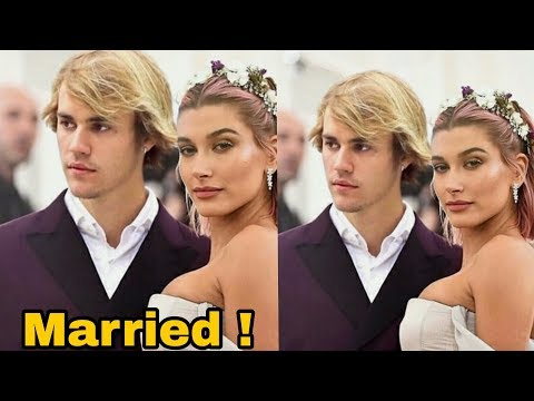 Singer Justin Beiber gets married to fiance Hailey Baldwin today ! Hollywood News
