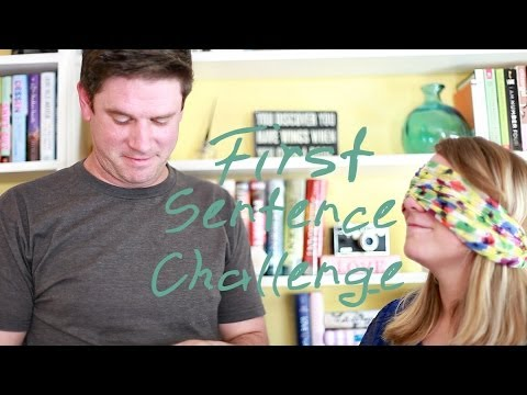 First Sentence Challenge! | With a Special Guest! from YouTube · Duration:  12 minutes 50 seconds