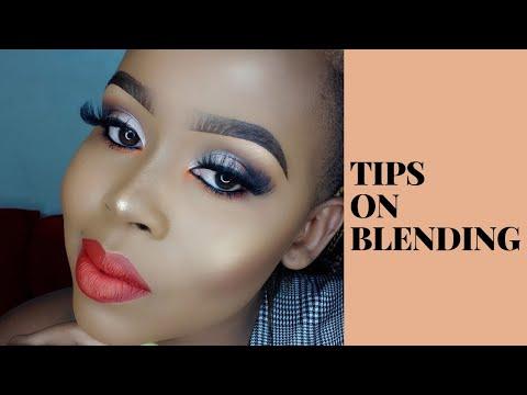 tips on blending makeup tutorial/ beginner friendly  youtube