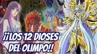 ¡¡Conoce a los 12 Dioses del Olimpo!! - Saint Seiya
