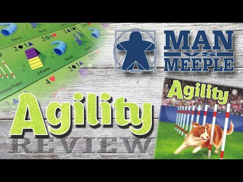 Agility (Two Lanterns Games) Review by Man Vs Meeple