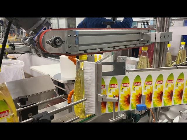 Bitkisel Yağ Etiketleme Makinası - Har Makina A.Ş.