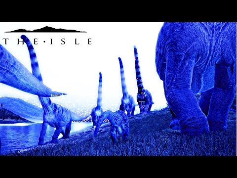 The Isle - MASSIVE PUERTA HERD, STOMP DINO LIKE BUGS & SANDBOX FUN W/ THE NOT-A-BRONTO ( Gameplay )