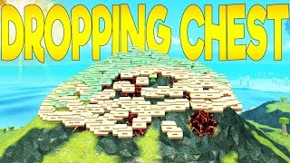 Dropping Chest To The Entire Server!! Booga Booga | Roblox