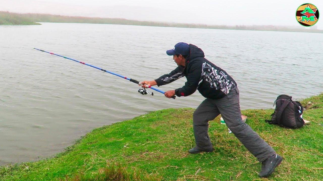 Como Lanzar La Caña De Pescar Como Tirar Una Caña De Pescar Youtube