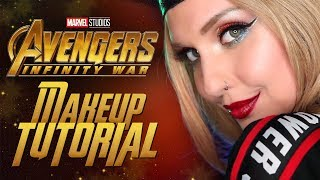 Avengers: Infinity War makeup tutorial by Alexa Poletti