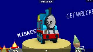 jogo estranho com Thomas o trem (ROBLOX)