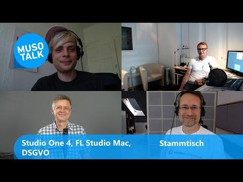 Studio One 4 Update, FL Studio 20  Mac, DSGVO - Stammtisch