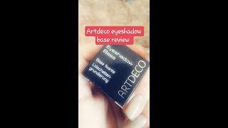 Artdeco eyeshadow base review | #styleyourlifewitherum
