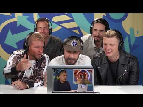 Backstreet Boy Reaction sub español