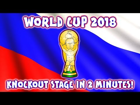 🏆KNOCKOUT STAGE In 2 MINUTES - WORLD CUP 2018🏆 (Parody Goals Highlights)