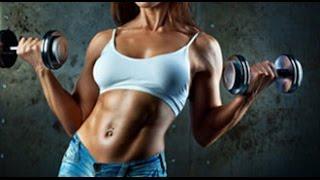 Как сжечь жир на животе и боках. Как быстро похудеть в животе!