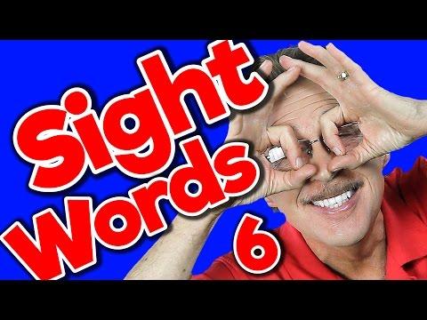New Sight Words 6   Sight Words Kindergarten   High Frequency Words   Jump Out Words   Jack Hartmann