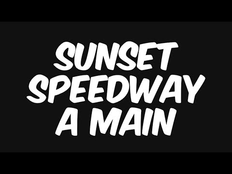 Sprint Car A Main at Sunset Speedway!