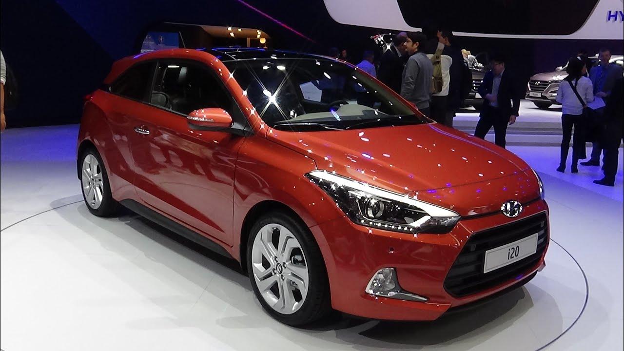 2016 Hyundai I20 Coup 233 Exterior And Interior 2015