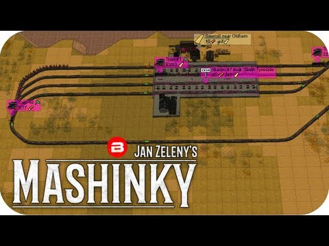 MASHINKY Gameplay - NO TRAIN FLIP BIG BOYS JUNCTIONS! - Tycoon Trains Simulator/Railroad Tycoon #12